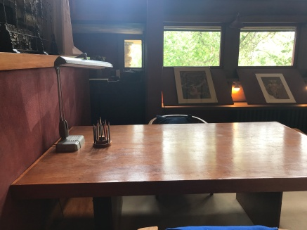 FLW working desk