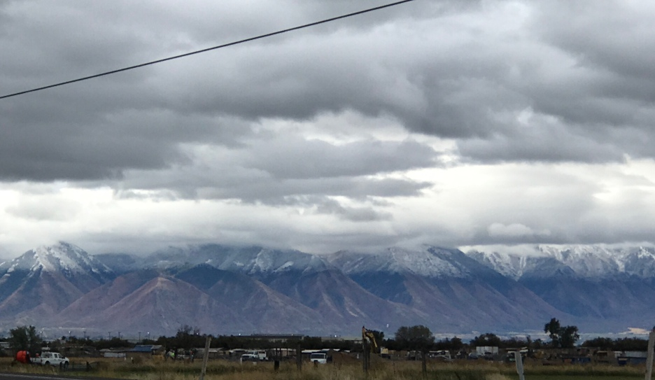 7 peaks in Provo with fresh snow